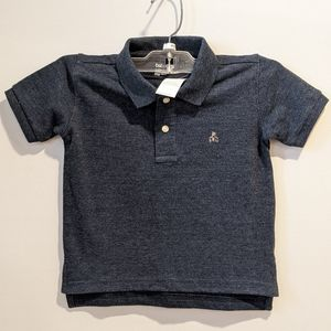 2/$20 NWT Gap boy's blue polo t-shirt 2 years